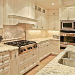 Grainte Countertops In Kitchen